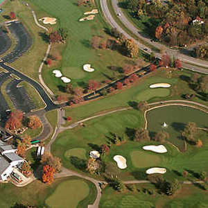 Beckett GC: Aerial view