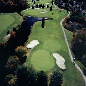 Woodlake CC: Aerial view