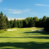 A view from a tee at Spring Meadow Golf Course