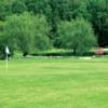 A view of a green at Hidden Acres Golf Course