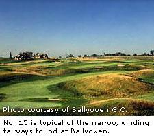 Ballyowen Courses